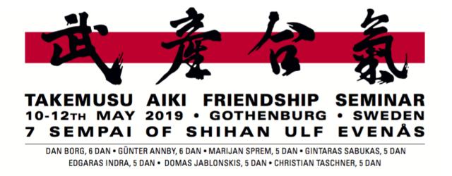 !!! Please pay attention to the locations The seminar will be held both at Frölunda Judoklubb (FJK), Klubbvägen 8, Västra Frölunda, and Göteborgs Aikidoklubb (GAK), Dr. Westrings Gata 14d, Göteborg. […]